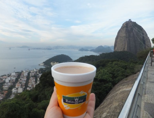 Hot Chocolate at Rei do Mate, Sugarloaf Mountain, Rio de Janeiro, Brazil