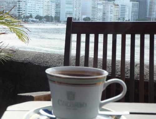 Hot Chocolate at Confeteria Colombo (Copacabana), Rio de Janeiro, Brazil