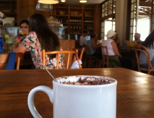 Hot Chocolate at La Bicylette, Rio de Janeiro, Brazil