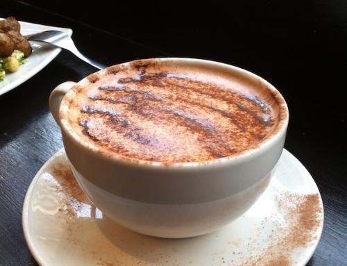 Hot Chocolate at Scandinavian Kitchen, London, UK