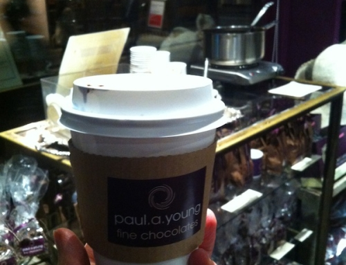 Hot Chocolate at Paul A. Young, London, United Kingdom
