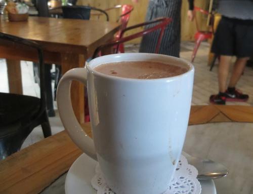 Hot Chocolate at Cafe Toscano, Roma, Mexico City, Mexico