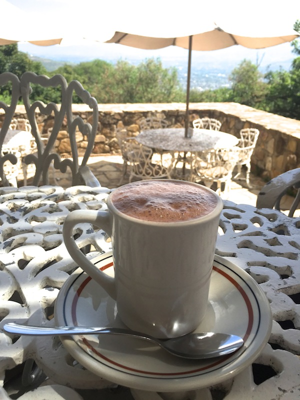 Hot Chocolate at Monte Alban, Oaxaca, Mexico