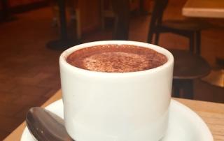Hot Chocolate at L.A. Burdick, New York, USA
