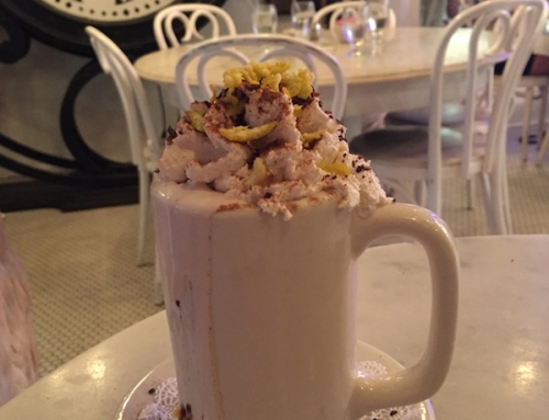 Hot Chocolate at Serendipity 3, New York, USA
