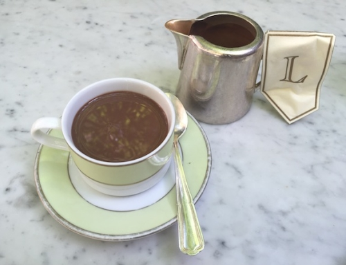 A French Chateau in NYC – Hot Chocolate at Laduree, New York, USA