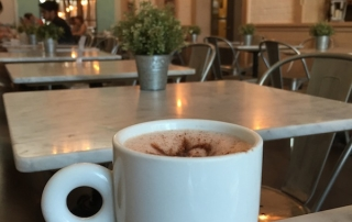 A Walk around Rice Village and a Hot Chocolate at Sweet Paris Creperie and Cafe, Houston, Texas, USA