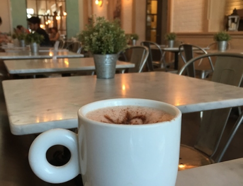 A Walk around Rice Village and a Hot Chocolate at Sweet Paris Creperie & Cafe, Houston, USA