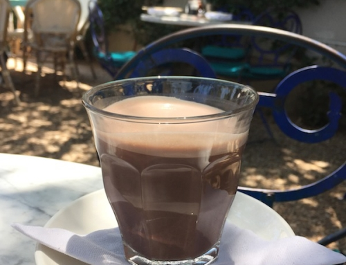 Lunch in Austin – Hot Chocolate at Café Elizabeth, Austin, USA