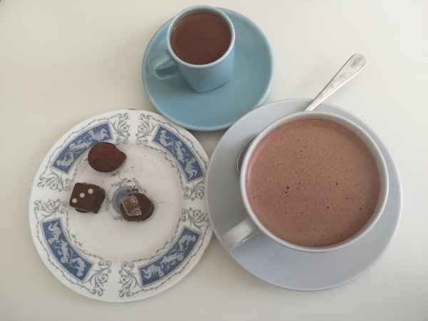 Spoiling Oneself with a Hot Chocolate or Two at Gorvett & Stone, Henley on Thames, United Kingdom