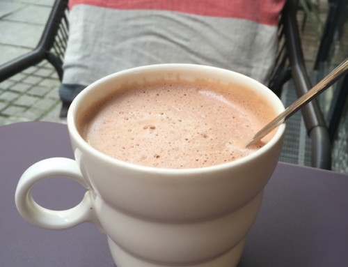 Heather's Helsinki and a Hot Chocolate at Hymy, Helsinki, Finland