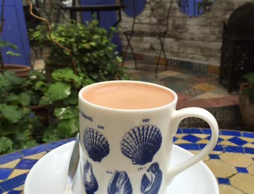 A Thing of Beauty; the Hot Chocolate at Rococo, London, United Kingdom