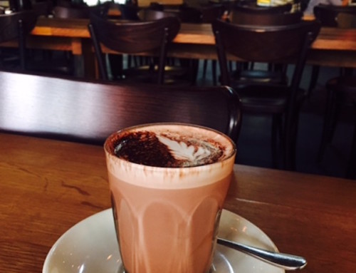 A Hot Chocolate at Bread in Common, Fremantle, Australia