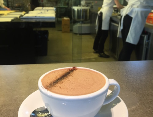 A Hot Chocolate at Lune, Melbourne, Australia