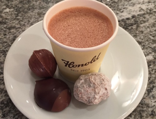 Hot Chocolate and Amazing Truffles at Confiserie Honold, Zurich, Switzerland