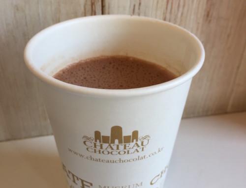 A Hot Chocolate at Chateau Chocolat, Seoul, Korea