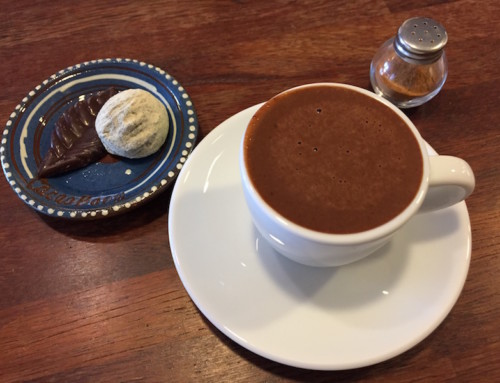A Hot Chocolate at Cacao Boom, Seoul, South Korea