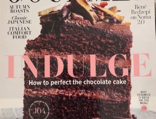 Ultimate Hot Chocolate is featured in April's Gourmet Traveller Magazine!