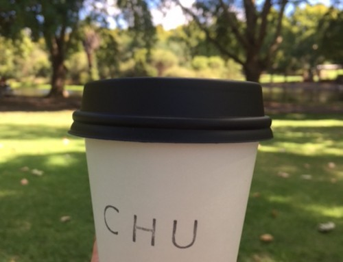 A Hot Chocolate and Choux at Chu, Perth, Australia