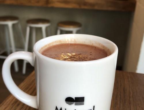 Hot Chocolate at Minimal, Tokyo, Japan