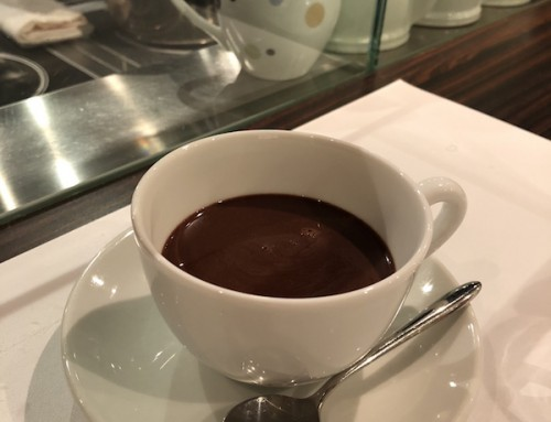 Hot Chocolate at Jean Paul Hevin, Tokyo, Japan