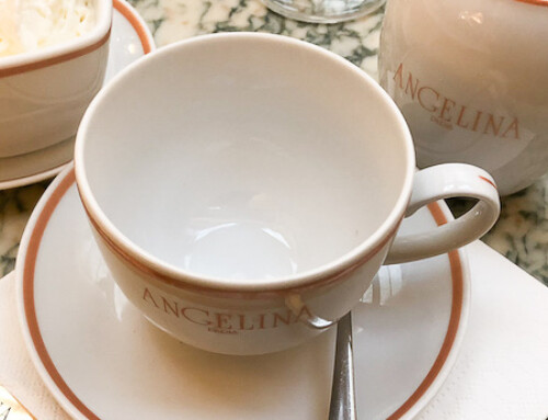 A Hot Chocolate at Angelina's, Paris, France
