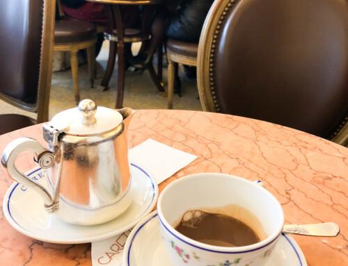 A Hot Chocolate at Carette, Paris, France
