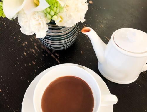 A Hot Chocolate at Jacques Genin, Paris, France