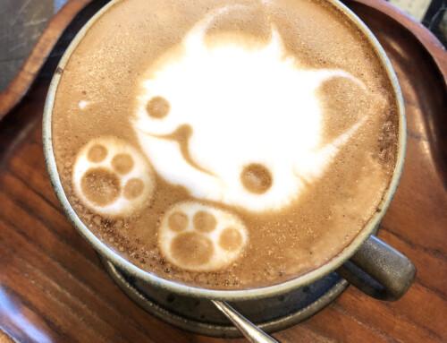 A Hot Chocolate at Cafe Warajiya, Takayama, Japan