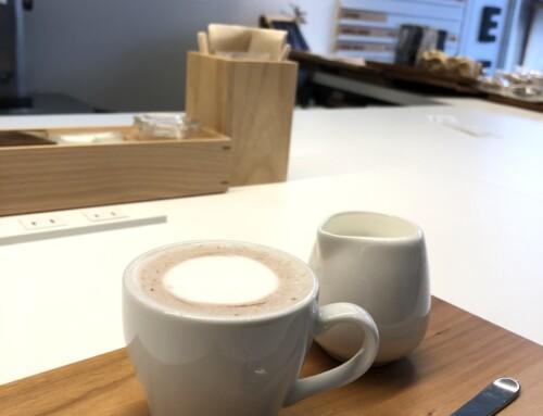 A Hot Chocolate at Traveller (and a lot of sake) in Takayama, Japan