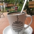 Hot Chocolate at Baguette & Chocolat, Sapa, Vietnam