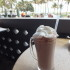 Hot Chocolate at News Cafe, Miami, USA