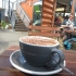 Hot Chocolate at Hummingbird Coffee, Christchurch, New Zealand