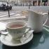 Hot Chocolate at Cafe de Flor, Paris, France