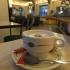 Hot Chocolate at Brasserie La Belle Epoque, Lourdes, France